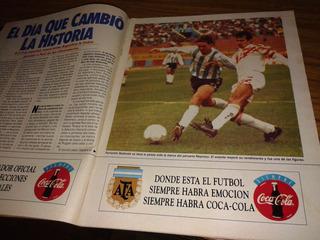 El Gráfico 3852 Ñ- Argentina 1 Peru 0 - Eliminatorias Usa 94