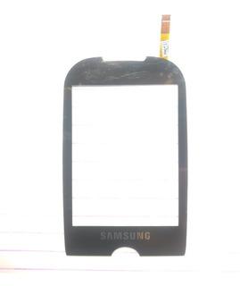 Tela Touch Samsung Corby S-3650 Preto