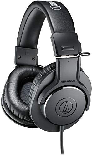 Audifonos De Estudio Profesionales Audio-technica Ath-m20x,