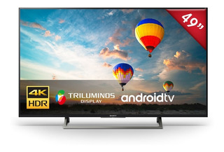 Televisor Sony 4k Hdr De 49¨ Android Tv - Xbr-49x807e