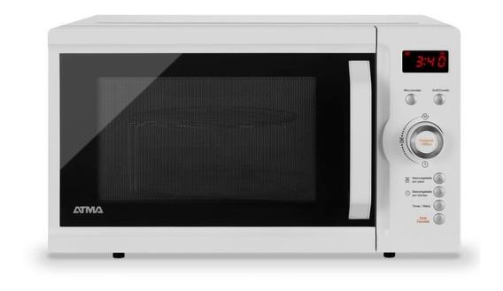 Microondas Digital 23l Grill Atma Md1723gn Blanco