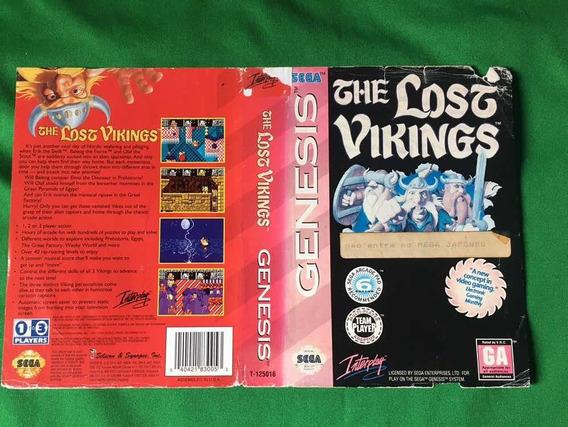 Encartes Mega Drive Genesis Originais The Losj Vikings/road