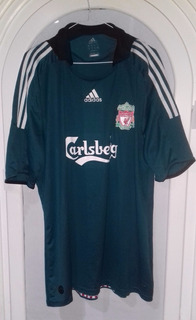 Jersey Liverpool Liga Premier Tercer Uniforme Año 2008 Xl