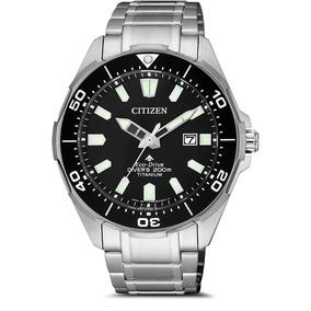 Relógio Bn0200-81e Citizen Aqualand Eco Drive Titanium Diver