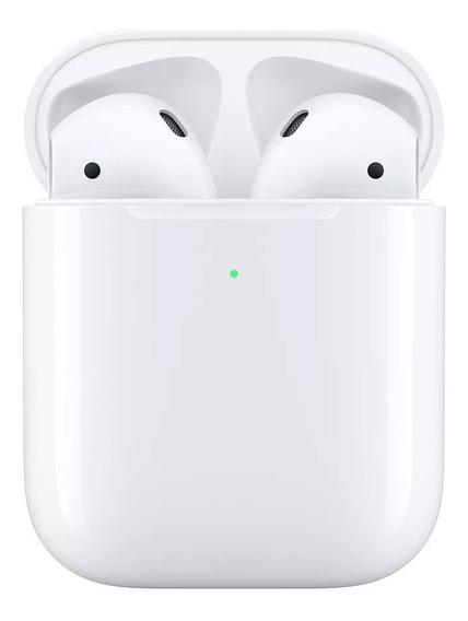 Fone De Ouvido Sem Fio Apple AirPods 2 Mv7n2am/a + Brinde
