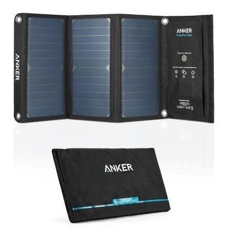 Anker Cargador Solar Powerport 21w 2 Puertos Usb