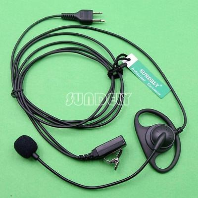 D-Shape Earpiece//Headset Boom Mic VOX For Icom Radio IC-A21 IC-A22 IC-A22E NEW
