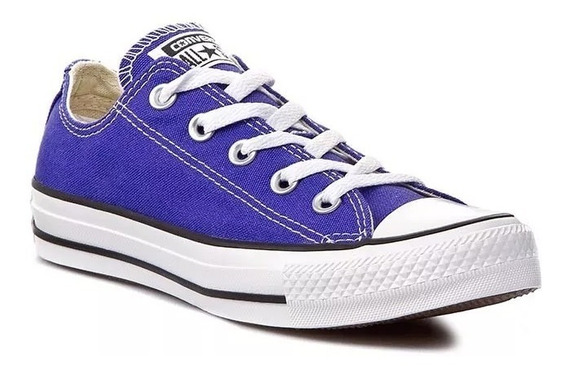 Zapatillas Nena Converse All Star Ox Junior Violeta