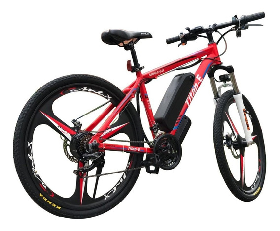 Bicicleta Eléctrica Rin 26 Mgnesio 30km