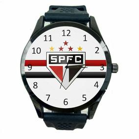 Relógio São Paulo Unissex Futebol Esporte Tricolor Novo T182