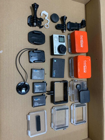 Gopro Hero 4 Black Com Lente Flat - Action - Camera