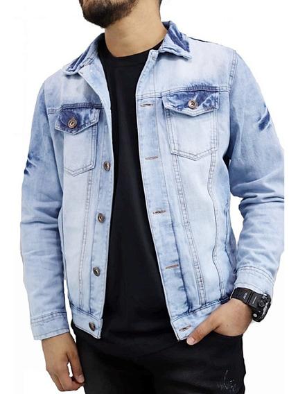 Jaqueta Jeans Masculina Premium Slim Fit A Pronta Entrega