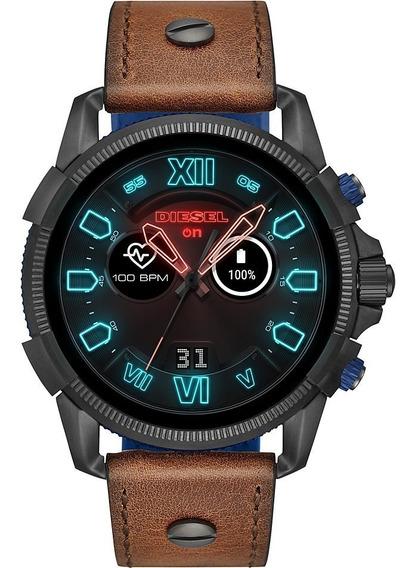 Relógio Diesel On Masculino Smartwach Dzt2009/0mi Couro