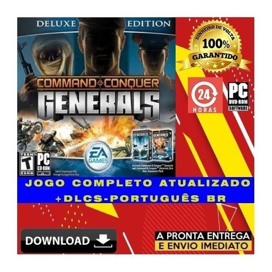 Command & Conquer Generals Zero Hour Pc Digital + Brinde