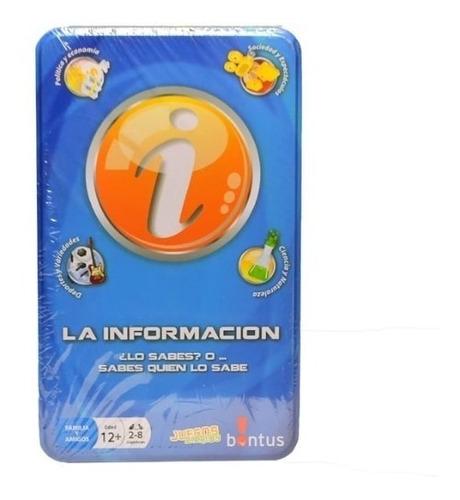 Juego De Mesa La Informacion En Caja Metalica Bontus