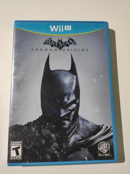 Batman Arkham Origins Americano Mídia Física Wii U