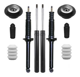 Kit 4 Amortiguadores + 2 Cazoleta + Tope Fuelle Vw Gol 2012