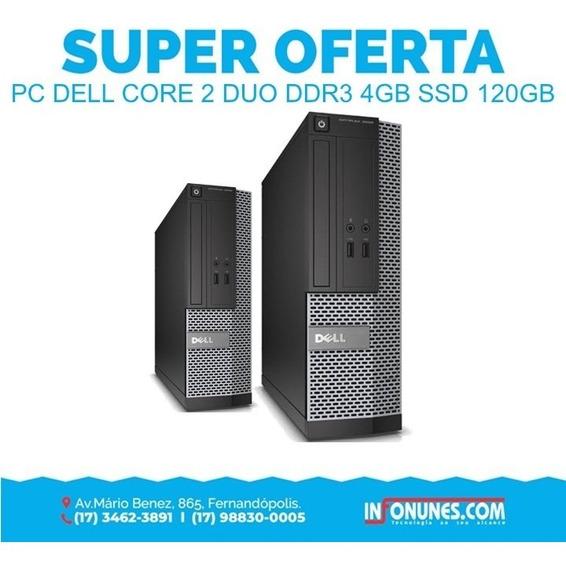 Desktop Dell Core 2 Duo