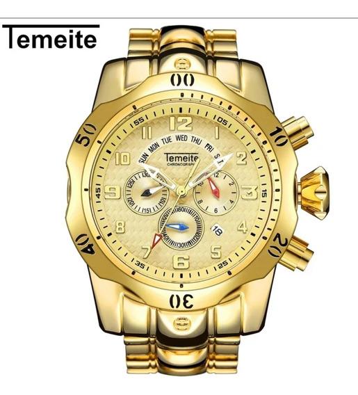 Relógio Temeite Big Dial Original Frete Grátis
