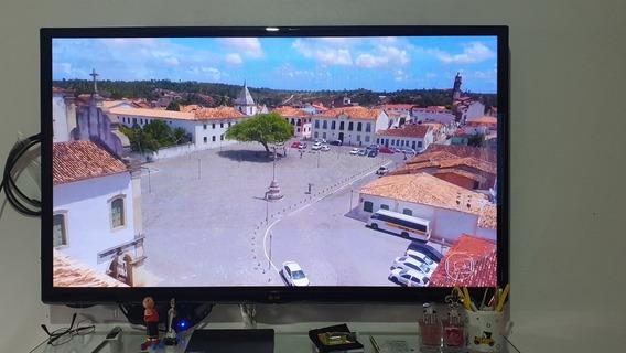 Tv Lg 50 PolegadasAcompanha Chromecast E Extensor Hdmi
