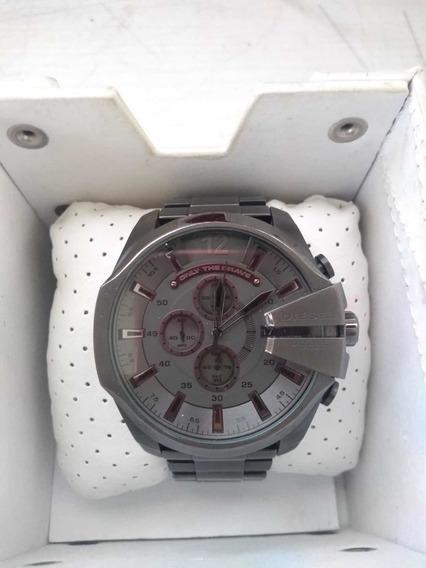 Reloj Hombre Diésel 10 Bar Original Negro