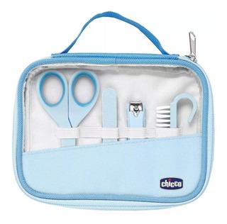 Set De Higiene Chicco Para Bebé Lima Alicate Tijera Cepillo