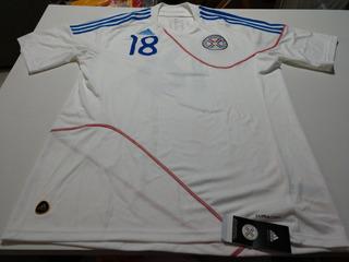 Camisa Seleção Paraguai Copa 2010 - Camisa Oficial De Jogo