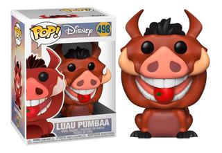 Funko Pop Luau Pumbaa #498 El Rey Leon Disney The Lion King