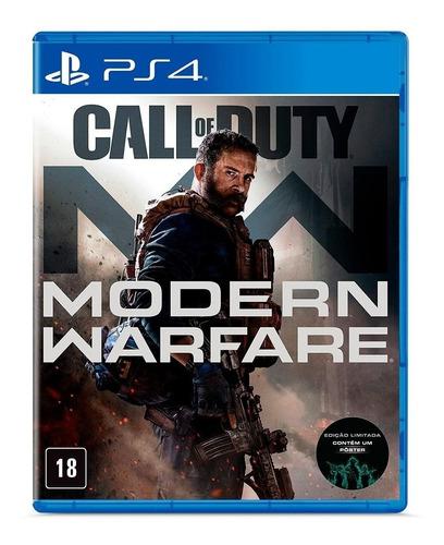 Call Of Duty Modern Warfare Ps4 - Versão Em Inglês