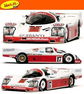 Slot.it - Porsche 962c - 2nd Place 1986 Poppy Larrauri