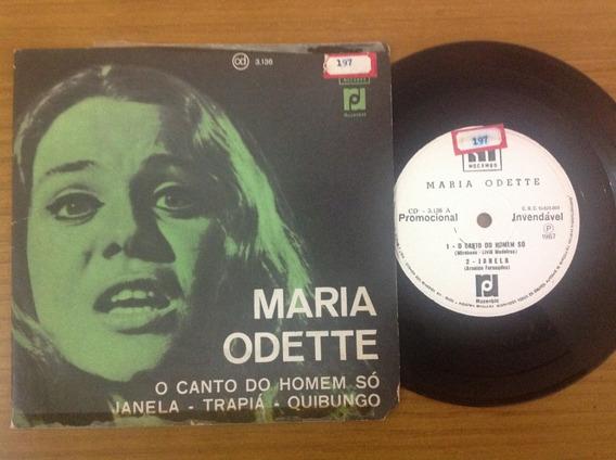 Compacto Maria Odette O Canto Trapia 1967 Luis Loy