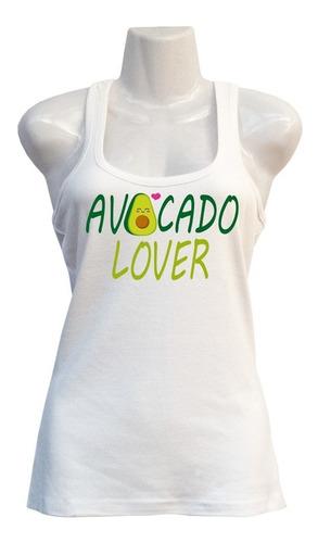 Polera Avocado Lover - Deportiva - Kawaii - Cartoons
