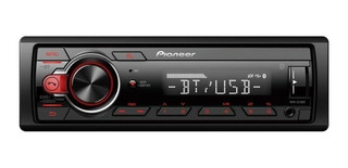 Autoestereo Pioneer S215bt Bluetooth Android Flac Usb Mp3