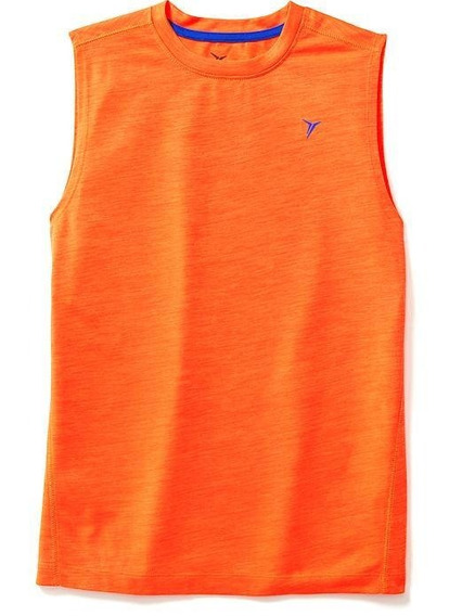 Remera Old Navy Active Go-dry Sin Mangas