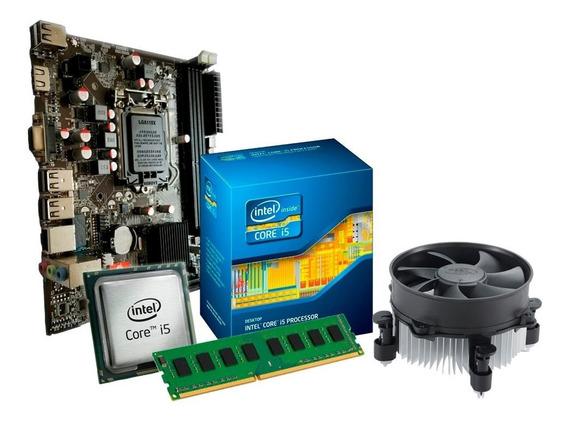 Kit Upgrade I5 650 - 3.2 Ghz + Placa H55 + 4gb Ddr3 + Nfe