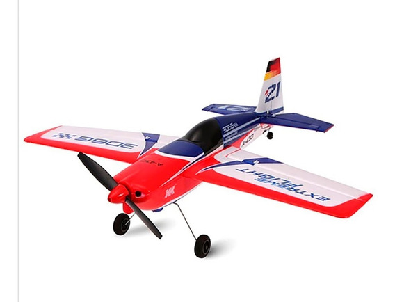 Avión Rc 3d Brushless Rtf Completo Con Giroscopio Acrobático