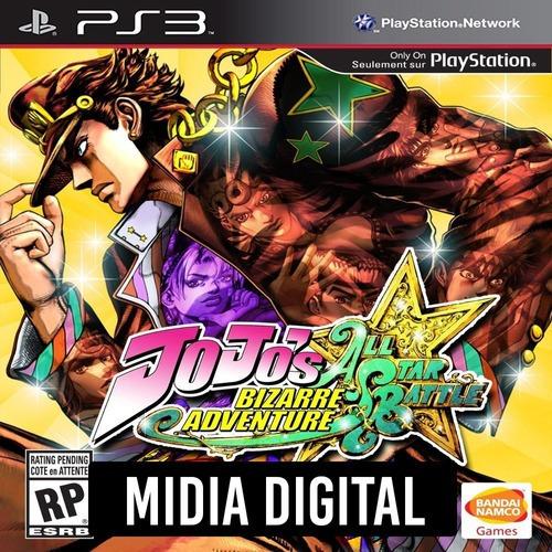 Jojos Bizarre Adventure All-star Battle - Ps3 Psn*