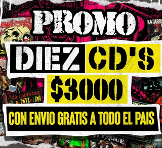 Promo 10 Cds A Eleccion Pinhead Records A $ 3000