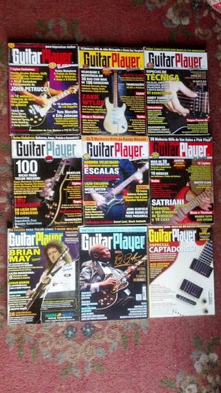 Guitar Player Lote Com 9 Revistas