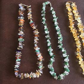 Colar De Pedras Naturais Semipreciosas