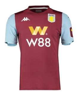 Camisa Aston Villa 2020 - Grealish, El Ghazi, Bjarnason, Lansbury, Mcginn, Nakamba