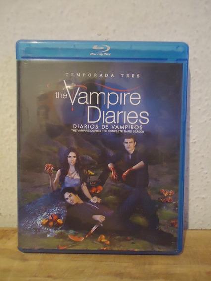 Blu-ray The Vampire Diaries Cronicas Vampiricas