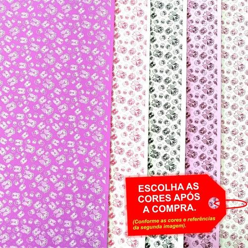 Folha De Eva Estampado Corujinha 40x60cm - 5 Unidades
