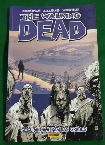 Hq - The Walking Dead- Vol. 3 - Segurança Atrás Das Grades