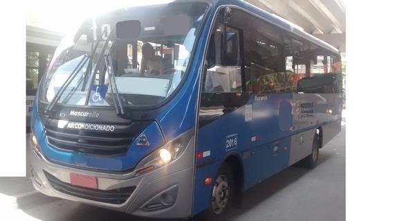 Micro Ônibus Mascarelo Com Ar 2016 Freebus