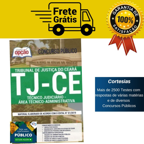 Apostila Técnico Tj Ce 2019 Área Administrativa - Ceará