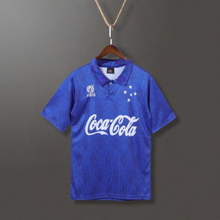 93-94 Cruzeiro Home Football Jersey Retro
