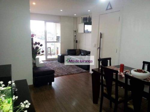 Apartamento Com 3 Dormitórios À Venda, 84 M² Vila Santo Estéfano - São Paulo/sp - Ap5414