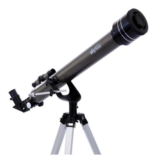 Telescópio Skylife Gemini + Cd Rom - Skylife Marca Especialista Em Produtos Astronômicos