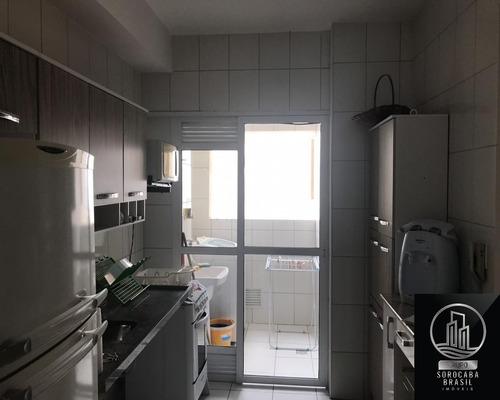 Apartamento Com 2 Dormitórios Para Alugar, 78 M² Por R$ 2.700/mês - Condomínio Vitrine Esplanada - Votorantim/sp - Ap00216 - 67817521